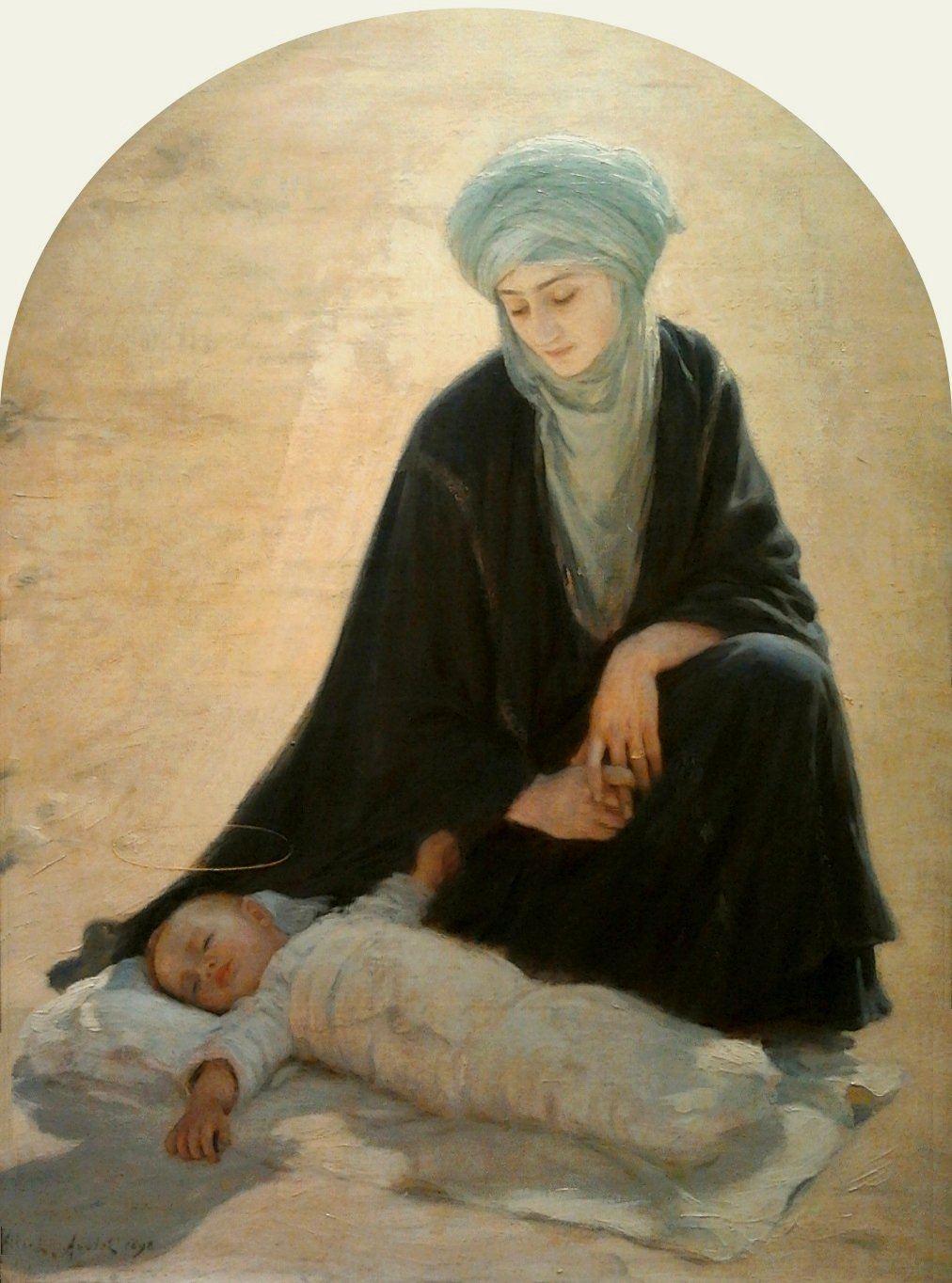 aublet arabic madonna and child
